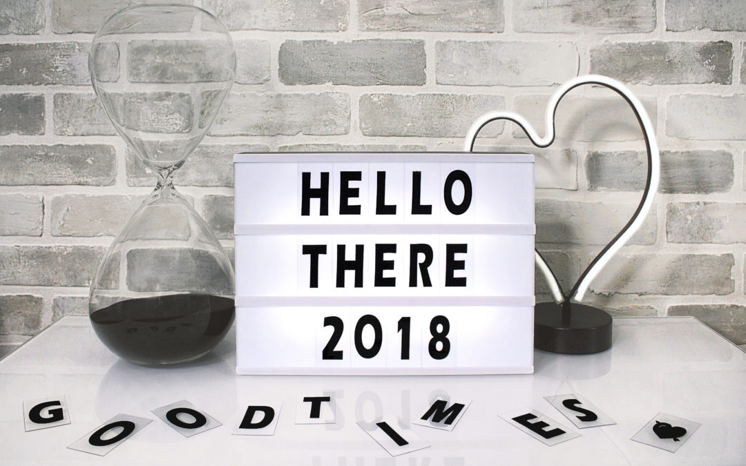 5 Business New year Resolutions for 2018