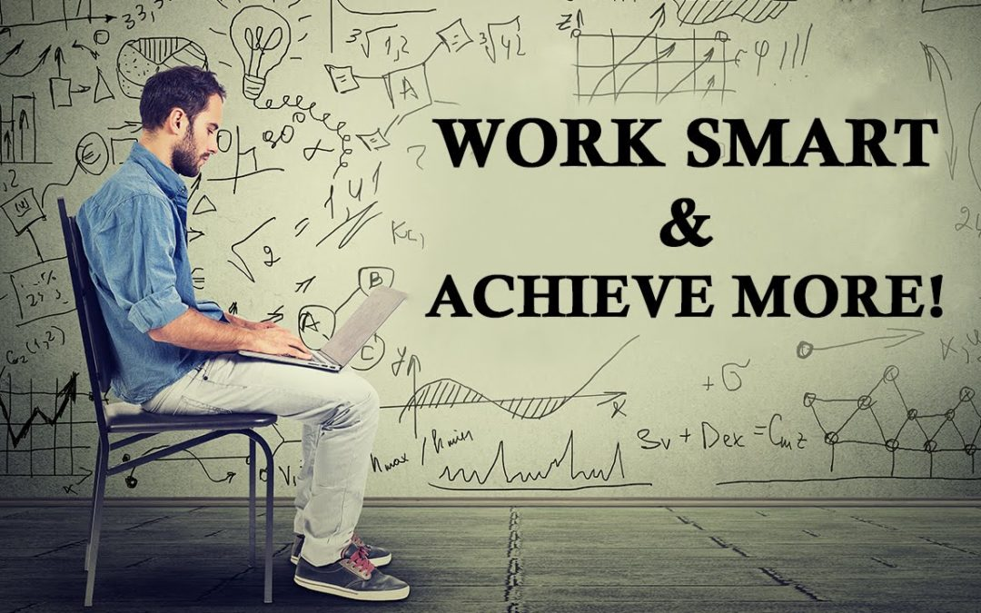 Why you need to STOP working and START thinking