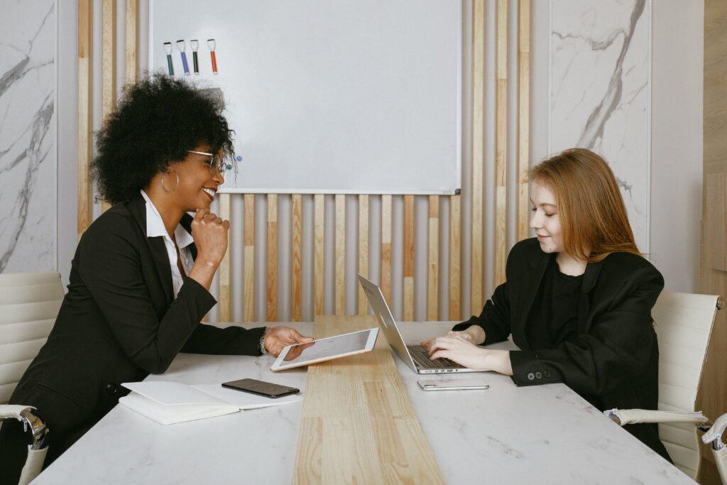 Women in a meeting